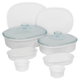 Corningware® Set de 10 Ramekins French White